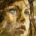 "Groupe Vinci, Eurovia: ""Femme"" ( 195cm x 146cm )"