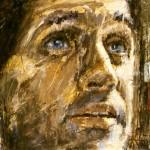 """Groupe Vinci, Eurovia: """"homme"""" ( 195cm x 130cm )"""