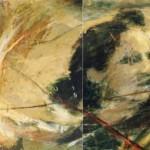 Lueur d'espoir dans lla folie du monde dyptique (390cm130cm)