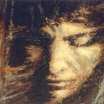 """Collectionneur privé (Espagne): """"Visage de l'âme"""" (205cm x 150cm)"""
