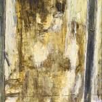 Derrière la fenêtre_( 65cm x 54cm )